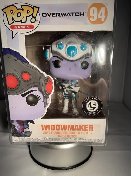 Overwatch Widowmaker Loot Crate Exclusive Funko Pop In Pop Protector