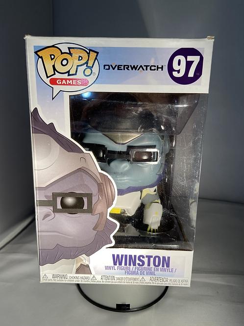"Overwatch Winston 6"" Funko Pop"