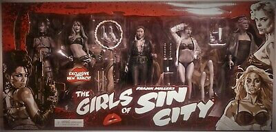 The Girls Of Sin City Monochrome Exclusive