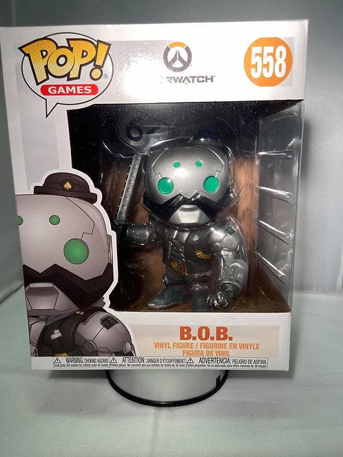 "Overwatch Bob 6"" Funko Pop B.O.B"