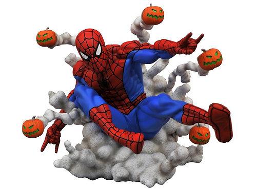 Spiderman Pumpkin Bomb Gallery statue