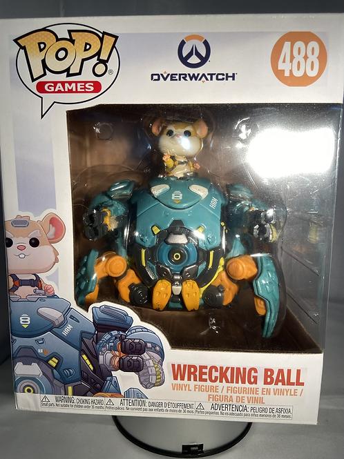 "Overwatch Wrecking Ball 6"" Funko Pop"