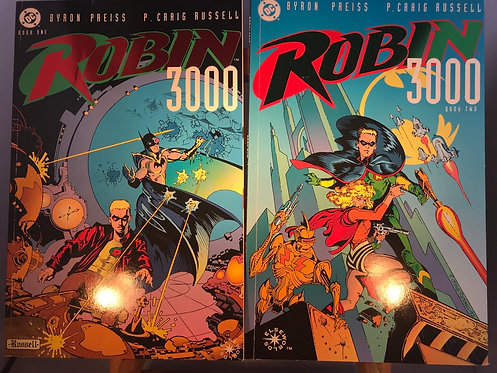 Robin 3000 Book One & Book Two TPB Graphic Novel (Preowned)
