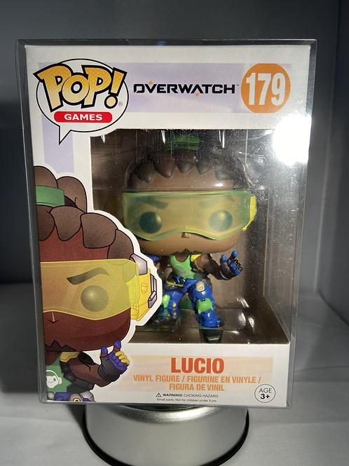 Overwatch Lucio Funko Pop In Pop Protector
