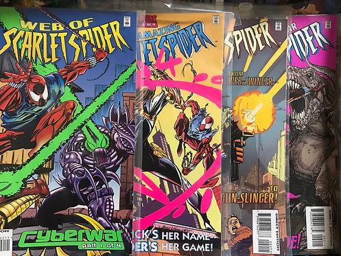 Spider-Man Cyberwar Complete Set (Preowned)