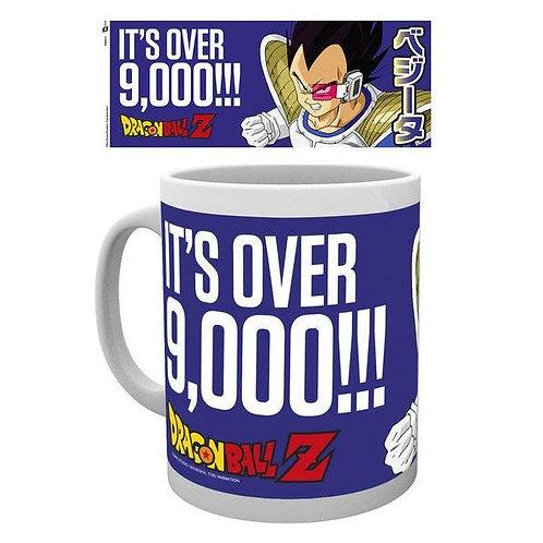 Dragonball Z Mug Its Over 9000