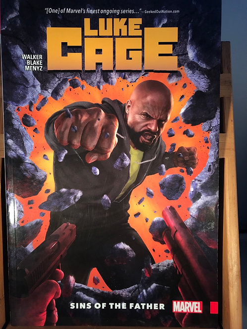 Luke Cage TPB Suns Of The Father Graphic Novel