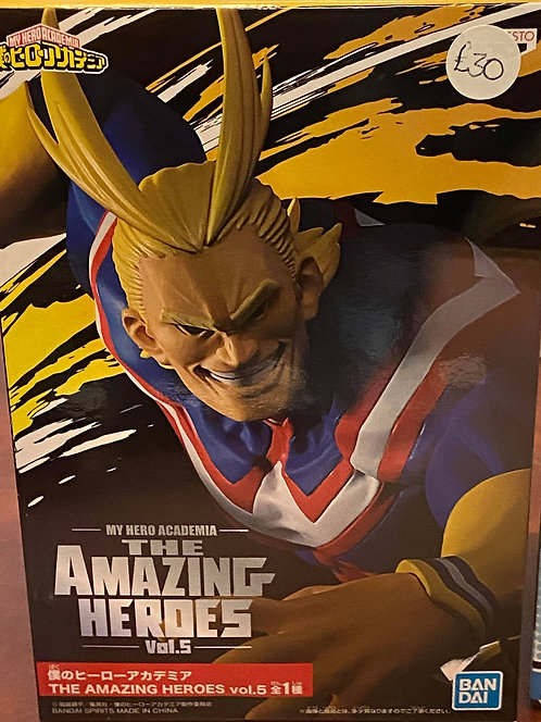 My Hero Academia The Amazing Heroes All Might Statue Figure Vol.5