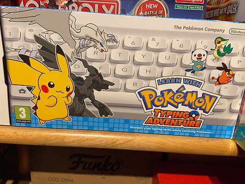 USED Pokemon Typing Adventure Nintendo DS
