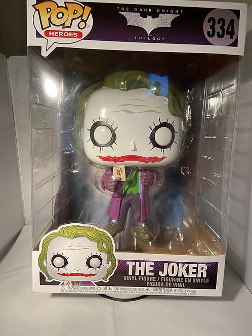 "DC Batman Dark Knight Trilogy The Joker 10"" Funko Pop"