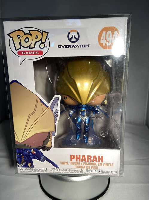 Overwatch Pharah Funko Pop In Pop Protector