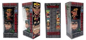 Free Comic Book Day Limited Edition DC Teekeez Wonder Woman and Superman Red Son