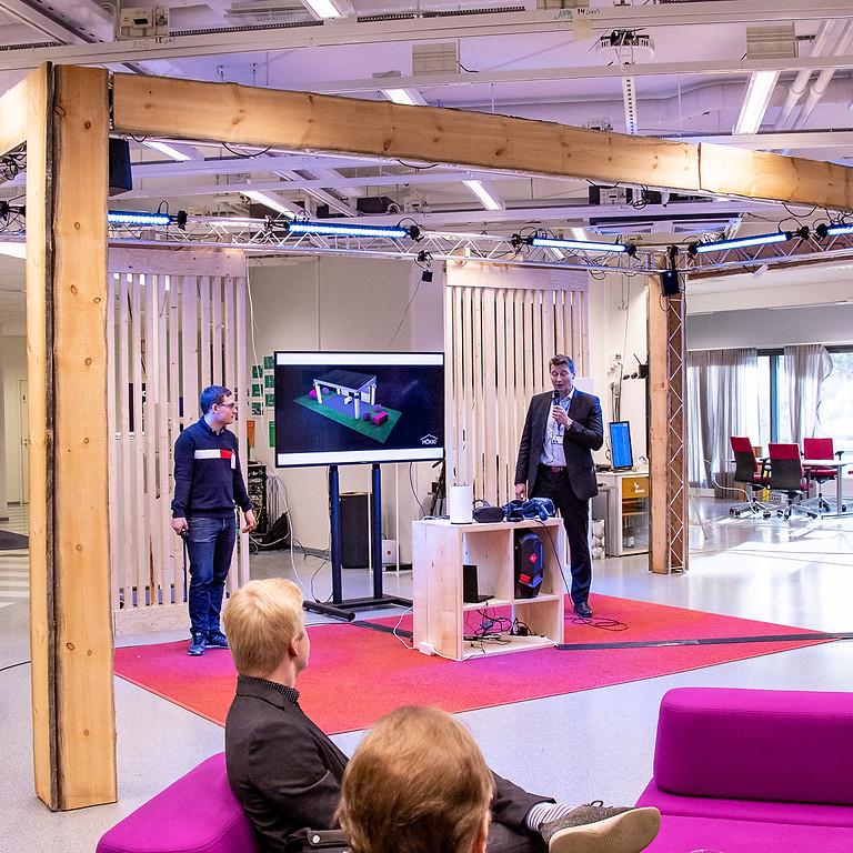 Launch of 5G MÖKKI service at Nokia HQ Garage