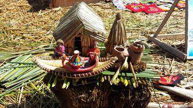 História tribo dos Uros, Puno - Bolívia