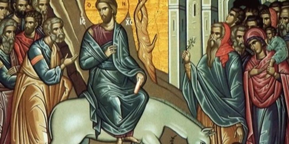 †) Intrarea Domnului in Ierusalim; †) Sf. Mc. Sava de la Buzau