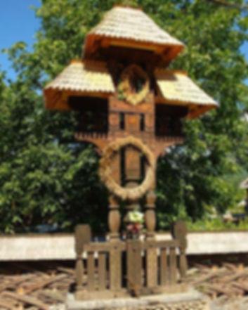 Cruce Troita Maramureseana Crestin Ortodoxa