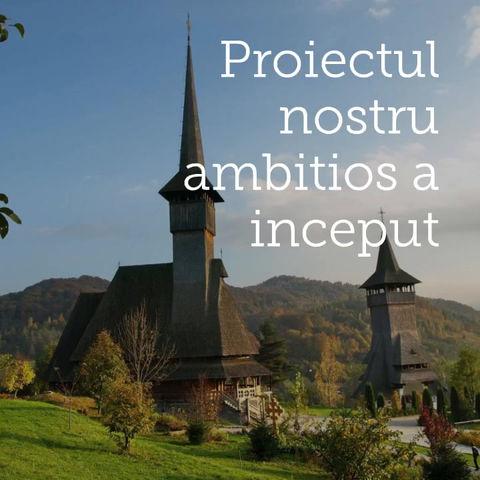 Constructia Bisericii de Lemn a Inceput