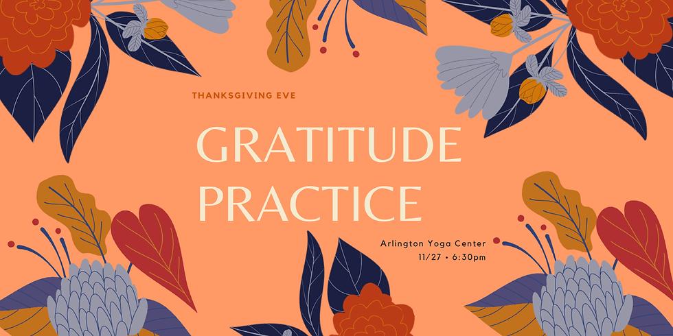 Gratitude Meditation & Yoga