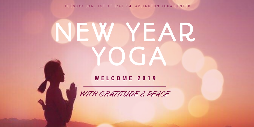 Gratitude + Peace: Welcoming 2019