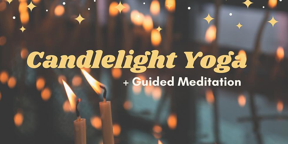 Candlelight Yoga + Meditation