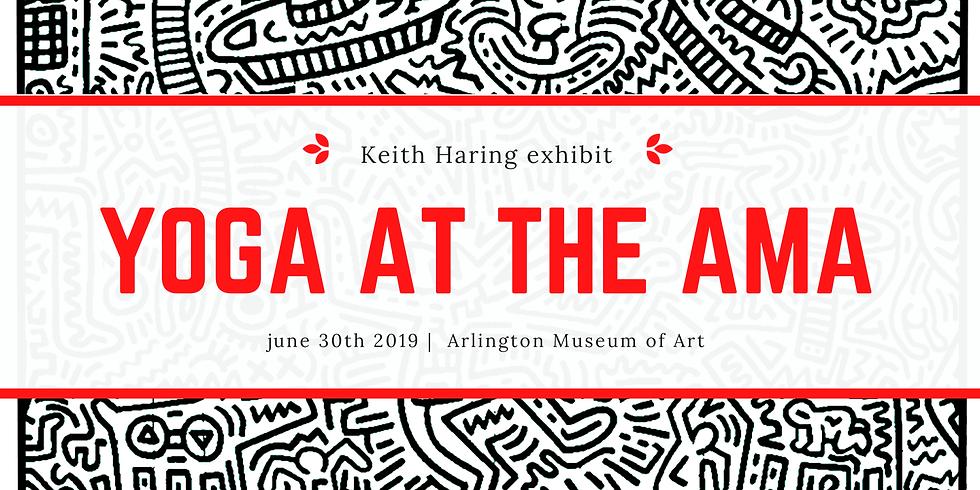 Art + Yoga at the AMA