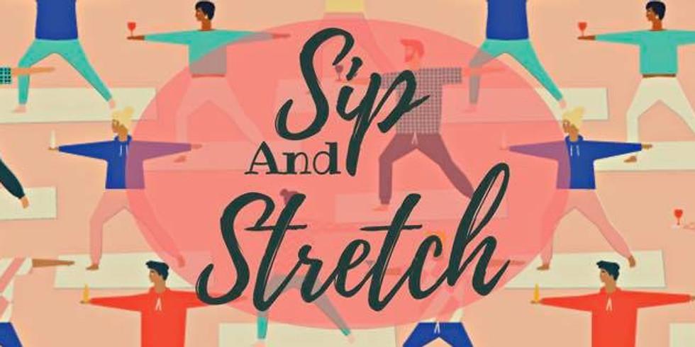 Sip and Stretch at Urban Alchemy