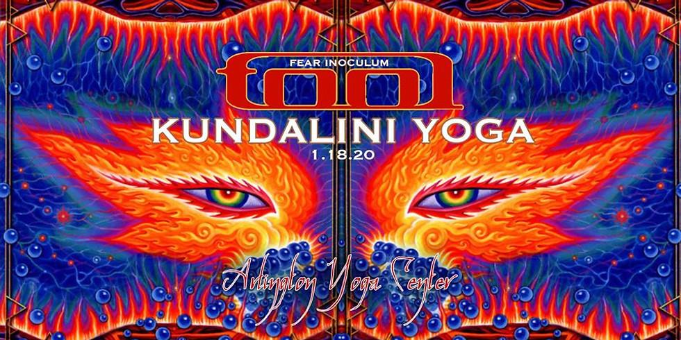 TOOL Fear Inoculum Kundalini Yoga Class for Letting Go of Fear