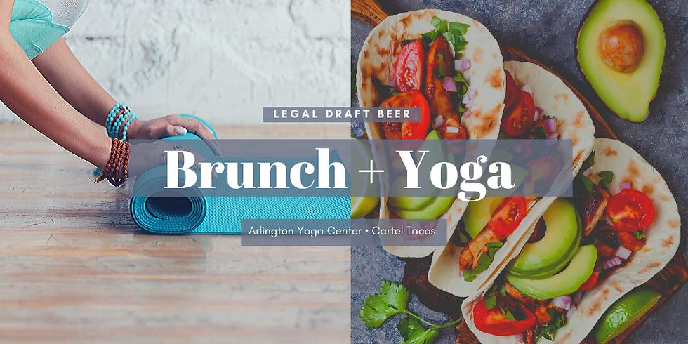 Brunch + Yoga at Legal Draft