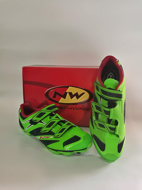 Northwave Scorpius 3S MTB Shoes green Fluo