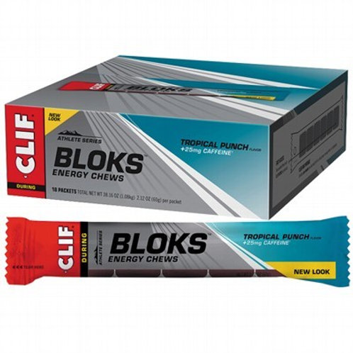 CLIF BLOKS ENERGY CHEWS Tropical Punch