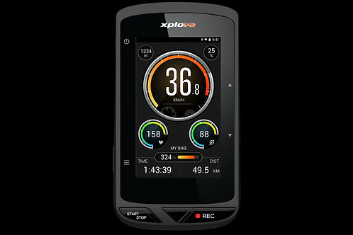 Xplova X5 Evo - Cycling Comp. with Camera