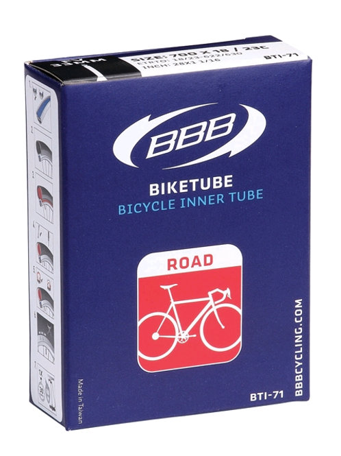 BBB BTI-72.FV.80 TUBE SUPERLITE 700 X 18/23C FRENCH 80MM