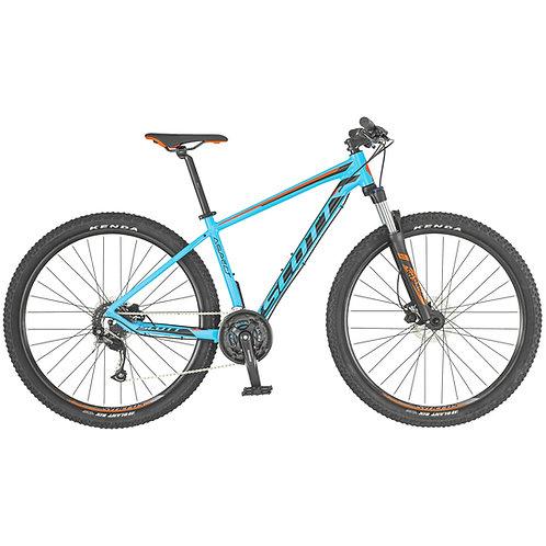SCOTT Aspect 750 light blue/red Bike 2019