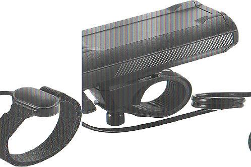 BBB BLS-110 LIGHT SNIPER 1200-LUMEN FRONT BLACK
