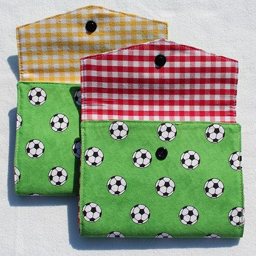 Spielkarten-Etui 'Fussball'