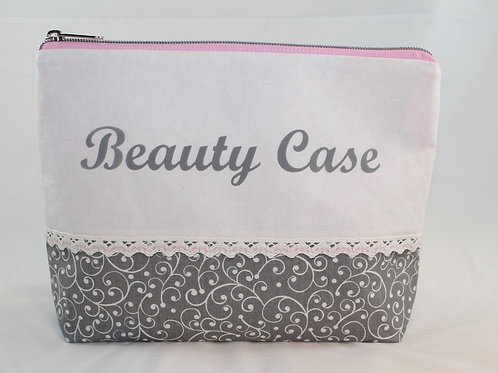 Necessaire 'Romantic' I - Beauty Case - RV silber