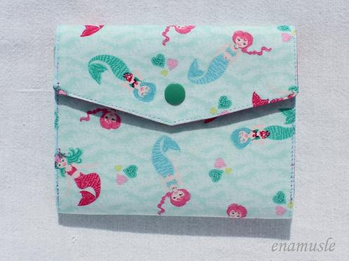 Spielkarten-Etui 'Meerjungfrauen'