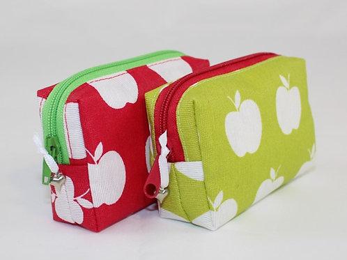 Mini-Etui 'Äpfel'