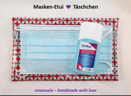 Masken-Etui ♥ Täschchen - neu im Shop