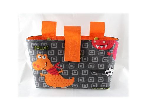 Lenkertasche 'Dino' - orange