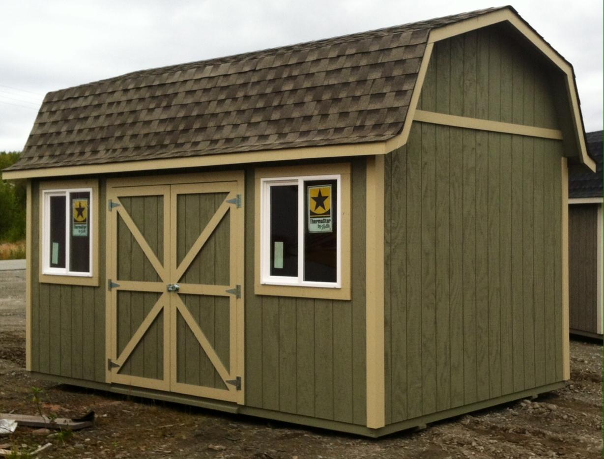 10x16 Tall Barn