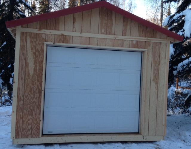 12x16 Garage