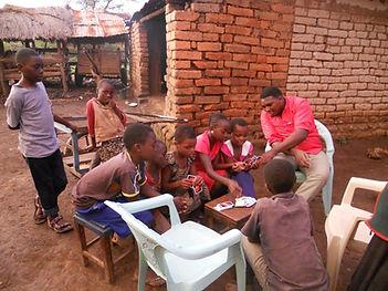 Joseph Mbwaga Founder HTOF orphange Tanzania