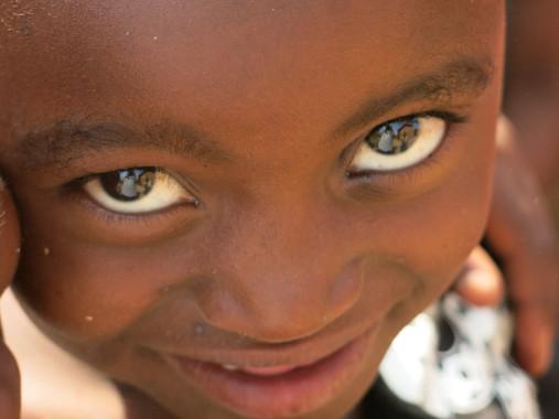 HTOF orphange children laughing