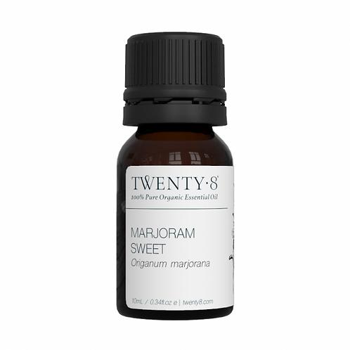 Marjoram Sweet Pure Essential Oil - 10ml (Certified Organic)