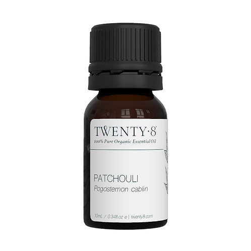 Patchouli Pure Essential Oil - 10ml (Certified Organic)