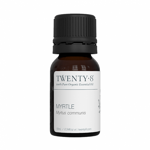 Myrtle Pure Essential Oil - 10ml (Certified Organic)