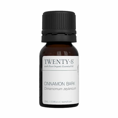 Cinnamon Bark Pure Essential Oil - 10ml (Certified Organic)