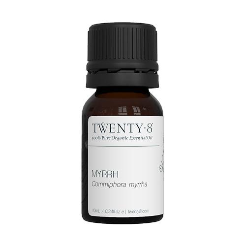 Myrrh Pure Essential Oil - 10ml (Certified Organic)
