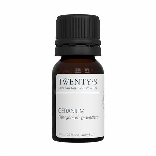Geranium Pure Essential Oil - 10ml (Certified Organic)